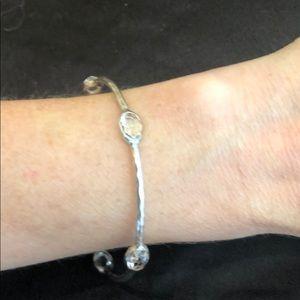 Ippolita Silver and Clear Quartz Bracelet